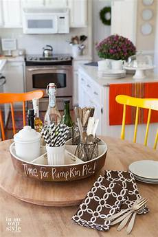 kitchen table decoration ideas fall home tour part 2 in my own style