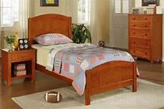 wood bed f9206 color medium oak wood furniture