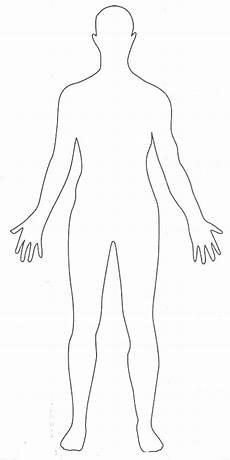 Blank Body Chart Blank Human Body