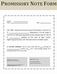 Free Printable Promissory Note Form Promissory Note Form Free Word Templates