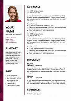 Download A Free Cv Template Dalston Newsletter Resume Template