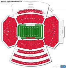 Nebraska Cornhuskers Stadium Seating Chart Memorial Stadium Nebraska Section 14 Rateyourseats Com