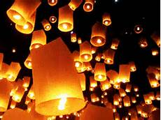 Lanterns And Lights At Chiang Mai Road Living In The Land Of Smiles