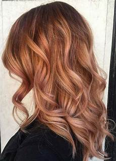 Red To Light Brown Hair 65 Rose Gold Hair Color Ideas Instagram S Latest Trend