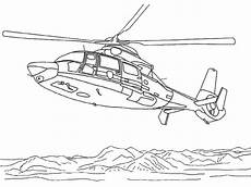 Malvorlagen Polizei Helikopter Ausmalbilder Rettungshubschrauber 01 Bilder Zum Ausmalen
