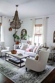 modern farmhouse living room home decor style