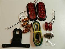 Boat Trailer Wiring Harness And Lights Trailer Led Light Kit Optronics Stop Turn Markers