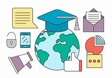 free education icons free vectors clipart