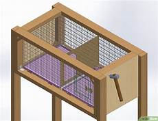 costruire gabbia conigli come costruire una conigliera 17 passaggi illustrato
