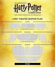 Lyric Theater Nyc Seating Chart Harry Potter Seating Plan Lyric Theatre