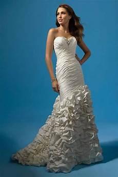 the best silhouette of beautiful mermaid wedding dresses