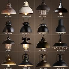 Metal Lights Vintage Rustic Metal Lampshade Edison Pendant Lamp Lights