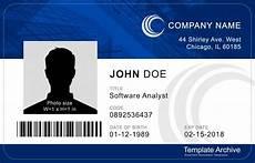 Pvc Id Card Template Id Card Template Templatedose Com