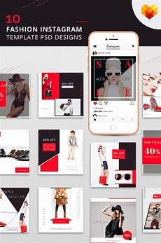 social media design templates 10 fashion instagram template psd designs social media 66589