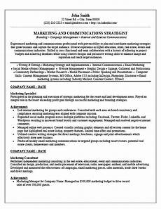 Marketing Specialist Resume Sample Sample Resume Marketing Specialist Digital Marketing