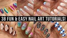 Nail Art Easy New Nail Designs Fun Amp Easy Nail Art Compilation Youtube
