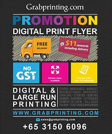 Make Free Flyers Online To Print Digital Print Flyer Online Free Delivery Grabprinting Com