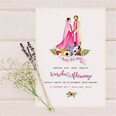 Wedding Save The Date And Invitations 40 Best Save The Date Invites For Your Indian Wedding