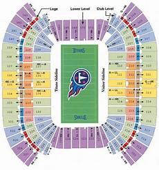 Titans Stadium Seating Chart Nfl Football Stadiums Tennessee Titans Stadium Lp Field