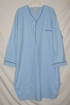 Vermont Country Store Size Chart The Vermont Country Store Size Xl Pajama Gown Light Blue