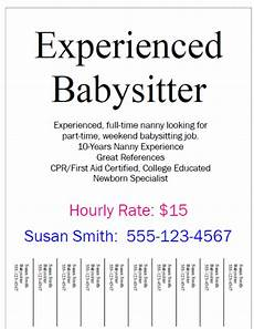 Baby Sitter Part Time How To Be The Best Nanny Finding A Part Time Babysitting