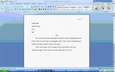 Microsoft Office Mla Format Microsoft Word 2007 Mla Formatting Wmv Youtube