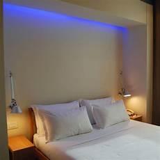 led schlafzimmer indirekte beleuchtung ideen wie sie dem raum licht und