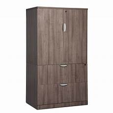 classic locking storage cabinet lateral file combo