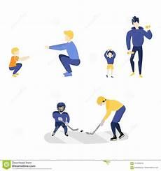 uomini che fanno sport vector i bambini piani ragazzo uomini adulti