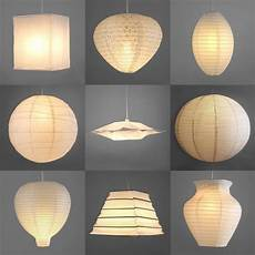 Rice Paper Ball Lights Pair Of Modern Paper Ceiling Pendant Light Lamp Shades