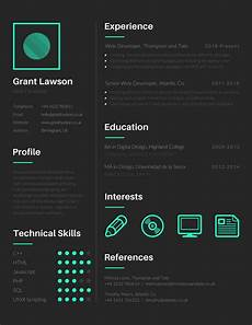 Visual Cvs Create A Bold Stylish Professional And Unique Visual Cv