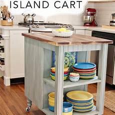 building kitchen island diy kitchen island cart with plans hometalk