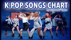 2018 Pop Charts K Pop Songs Chart September 2018 Week 4 Youtube