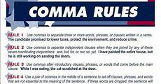 When Do I Use A Comma Click On Comma Rules