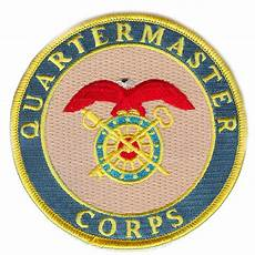 Quartermaster Army Quartermaster Corps Patch Us Army Branches Of Service