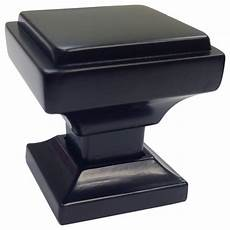 southern black square cabinet knobs by southern