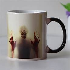 Mug Designs Drop Shipping Seven Designs Zombie Color Changing Coffee