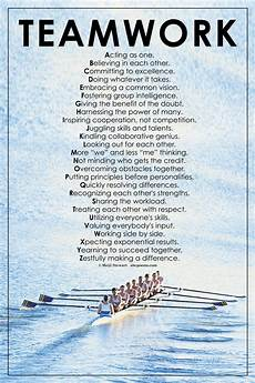 Examples Of Teamwork In The Workplace Teamwork Is Poster I Know This Isnt Basketball But I
