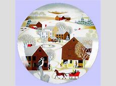 Christmas & Religious Art Plates: Picture Gallery of