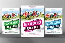 Back To School Flyer Templates Back To School Flyer Template Flyer Templates Creative