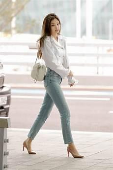 jennie stuns with airport fashion netizen buzz