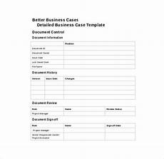 Free Business Case Template 13 Business Case Templates Pdf Doc Free Amp Premium