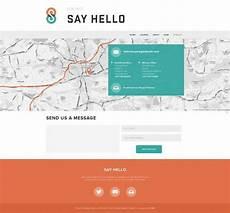 About Us Page Design Pinterest Website Contact Page Design Websites Ui 디자인 레이아웃