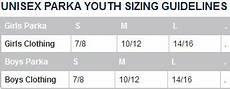 Speedo Swim Parka Youth Size Chart Tyr Swim Team Parka Size Chart