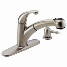 Delta Pull Kitchen Faucet Kitchen Pull Or Out Faucet 467 Sssd Delta Faucet