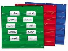 Small Pocket Charts For Teachers Heavy Duty Small Pocket Chart At Lakeshore Learning