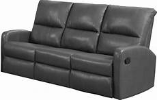 Gray Reclining Sectional Sofa 3d Image by 84gy 3 Charcoal Grey Bonded Leather Reclining Sofa 84gy 3