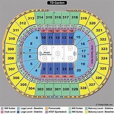 Boston Bruins Seating Chart Interactive Boston Bruins Amp Boston Celtics Seating Chart Tickpick