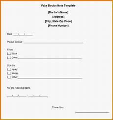 Make A Doctors Note Kaiser Doctors Note Template Business