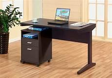 office desk with file cabinet id447 desks